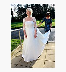 bride Photographic Print