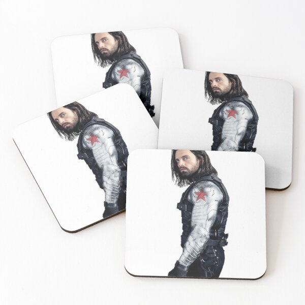 Sebastian Stan Coasters (Set of 4)