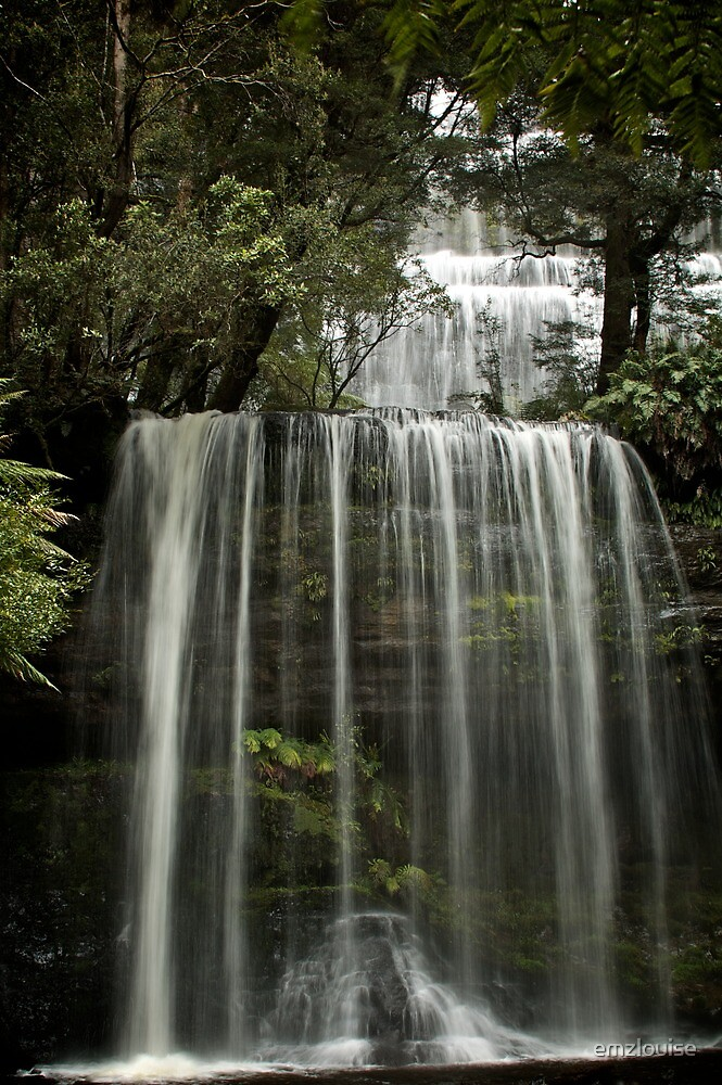 Russell Falls, Mt Field National Park, Tasmania by emzlouise