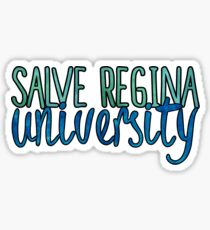 Salve Regina Two Tone Sticker