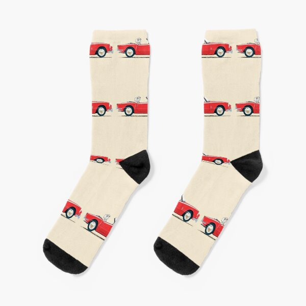 Early Signal Red Spitfire – a Triumph! Socks