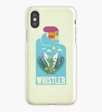 """""""Blue Bird"""" Whistler Village iPhone case iPhone Case"""