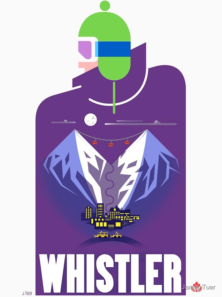 """Full Moon"" Whistler Village Shirt by Tueros"