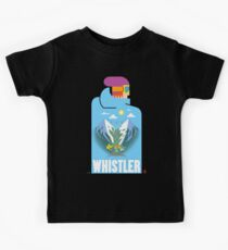 """Blue Bird"" Whistler Village Shirt Kids Clothes"