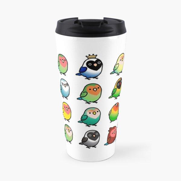 Chubby Lovebirds Travel Mug
