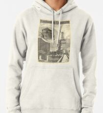 Sudadera con capucha Construction of The Statue of Liberty Illustration
