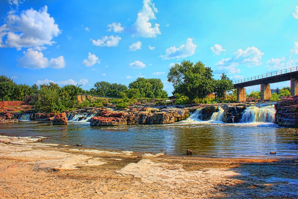 Paradise by the falls by Jim  Egner