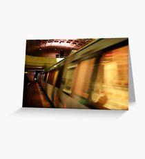 Metro Flash Greeting Card