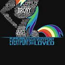 Brony Typography by Northern Dash