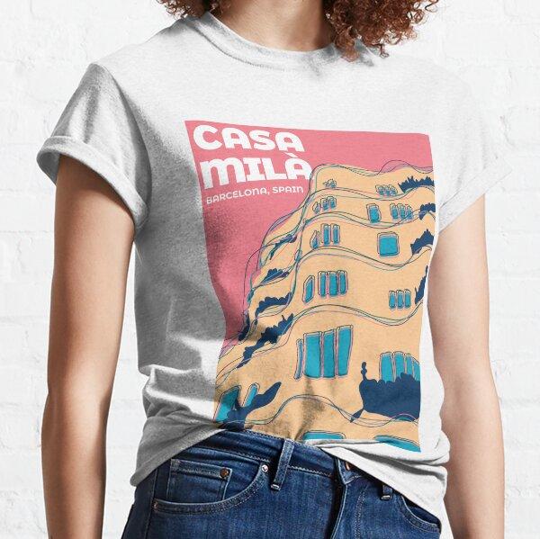 Casa Milà - Barcelona, Spain Classic T-Shirt