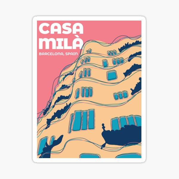 Casa Milà - Barcelona, Spain Sticker