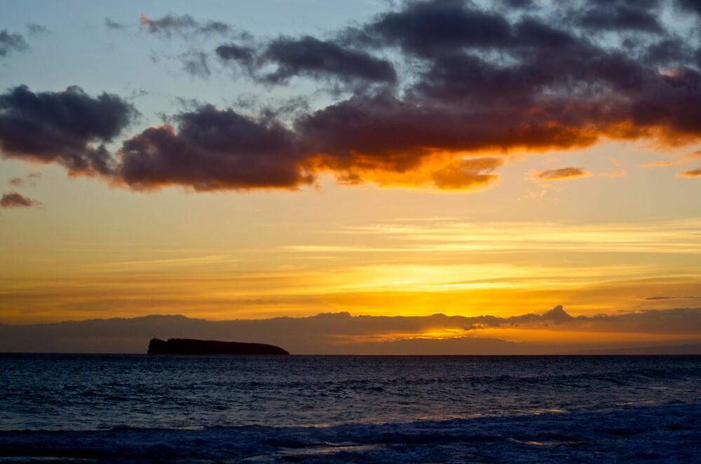 Hawaiian Sunset by Sebastian Sayegh