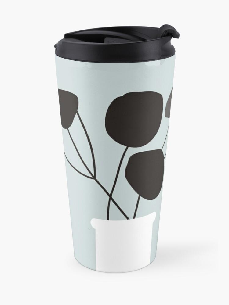 Alternate view of White Vase Travel Mug