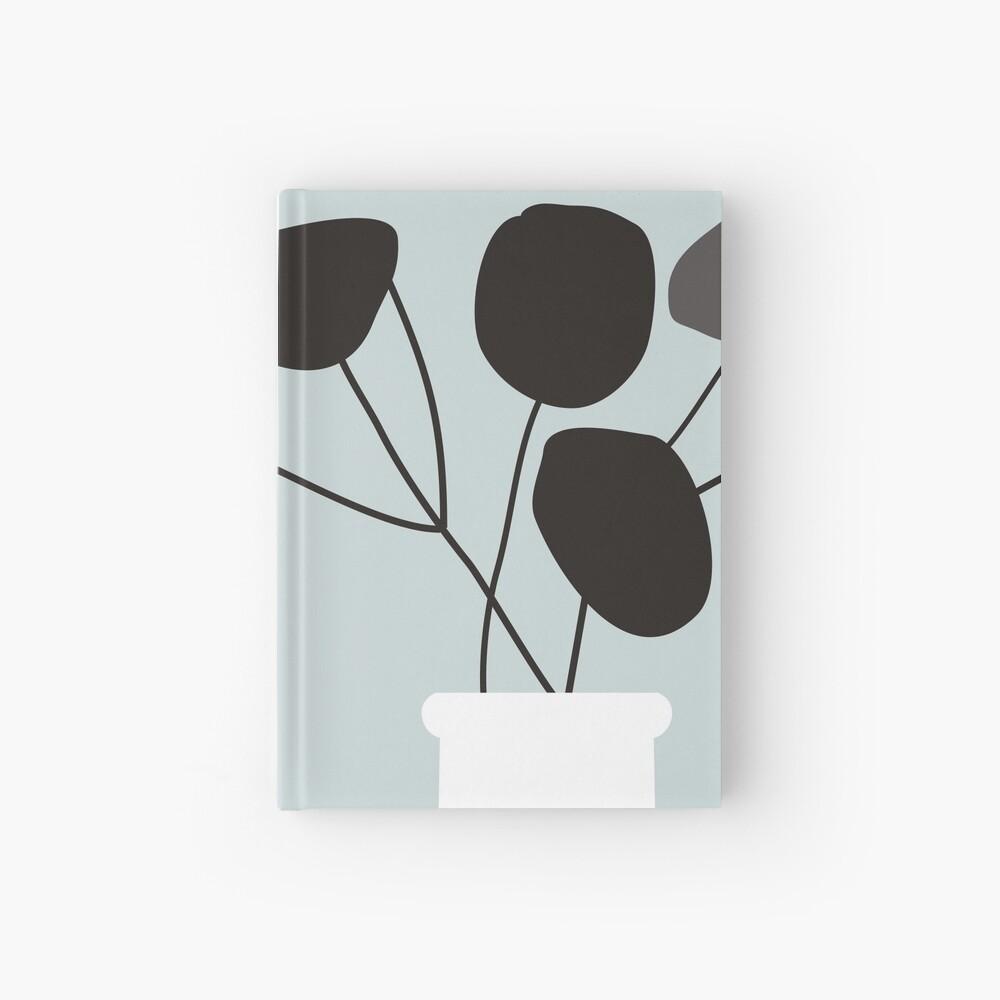 White Vase Hardcover Journal