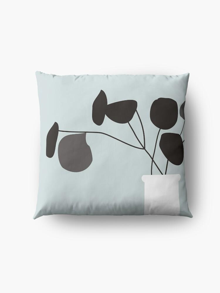 Alternate view of White Vase Floor Pillow