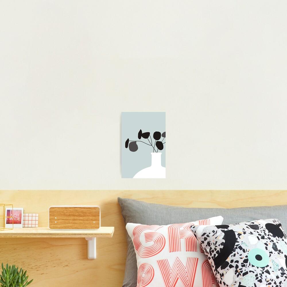 White Vase Photographic Print