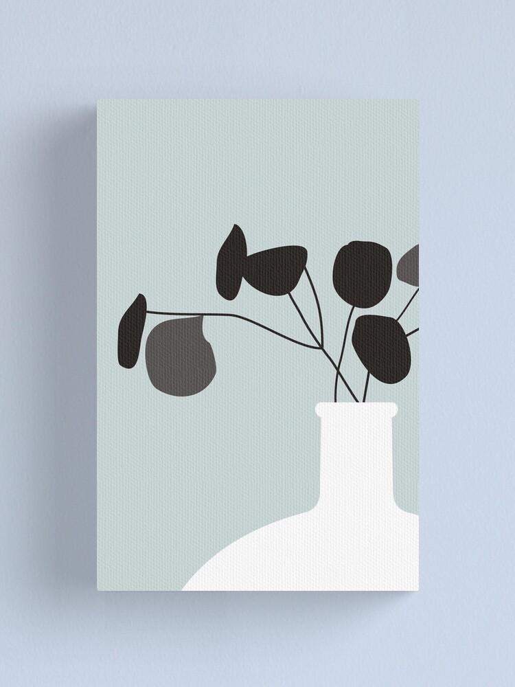 Alternate view of White Vase Canvas Print