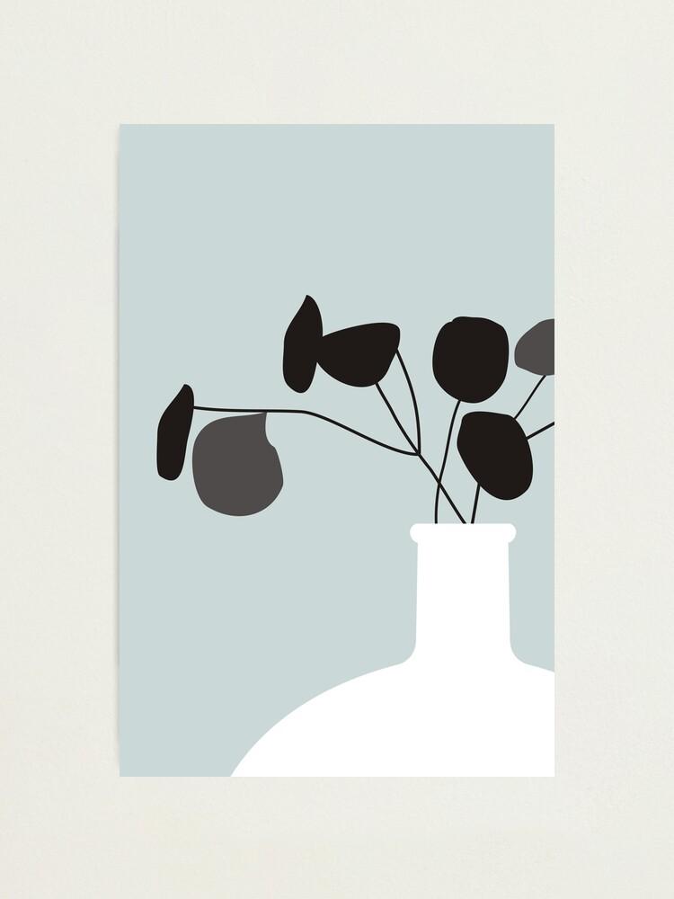 Alternate view of White Vase Photographic Print