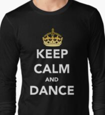 Keep Calm and Dance! - Crowned T-Shirt