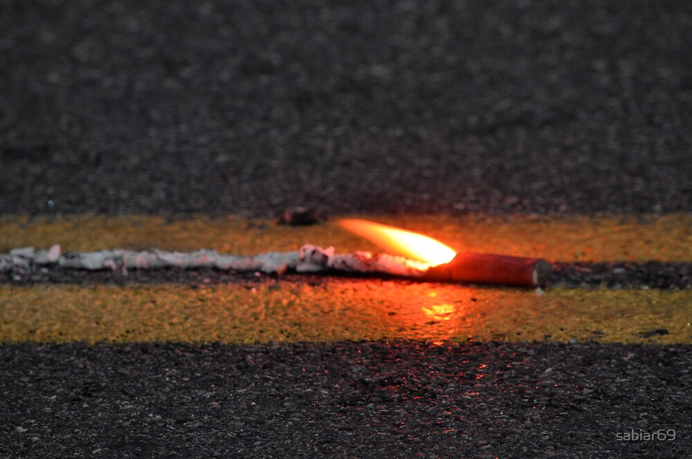 Road Flare by sabiar69