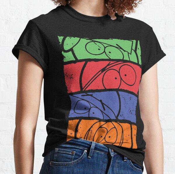 South Park minimal faces Classic T-Shirt