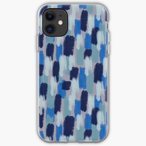 Blue Jean Baby Painted iPhone Soft Case