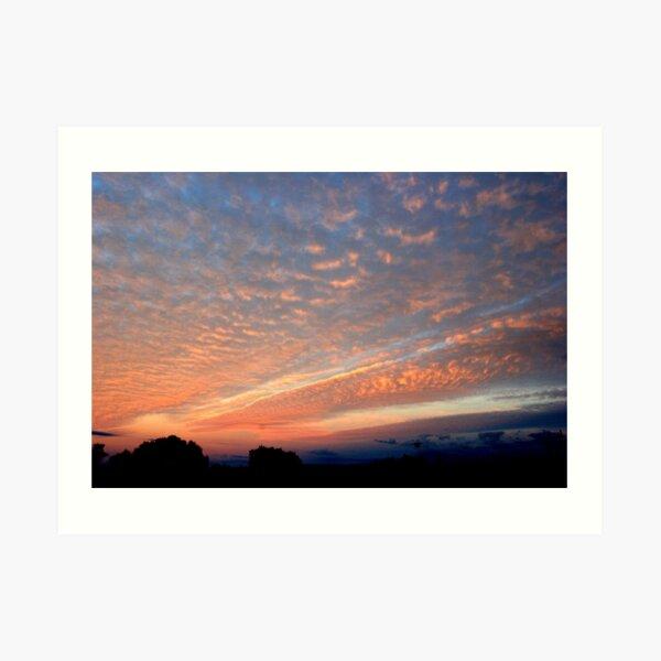 A Spectacular Frankland Sunrise Art Print