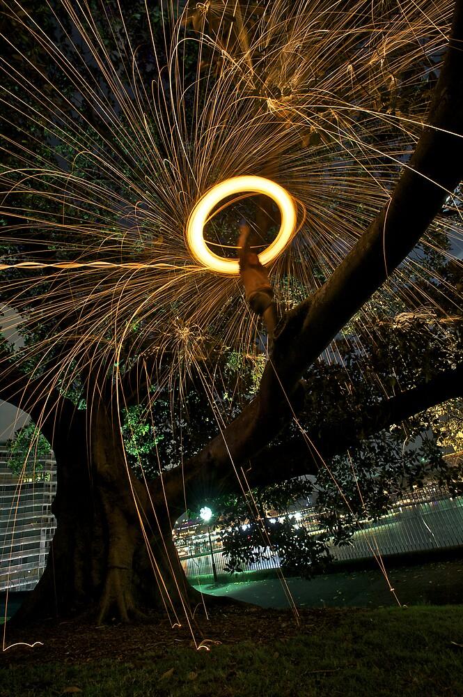 Fire Angel Xmas Tree I by Alexander Kesselaar