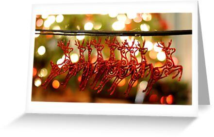 Won't you guide my sleigh tonight? by laruecherie