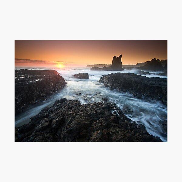"""Cathedral Sunrise"" ∞ Kiama, NSW - Australia Photographic Print"
