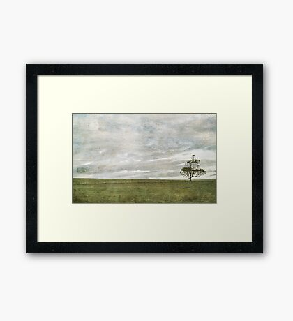 Lonely Places ~ Framed Print