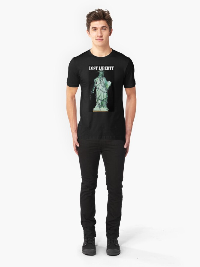Alternate view of Lost Liberty Slim Fit T-Shirt