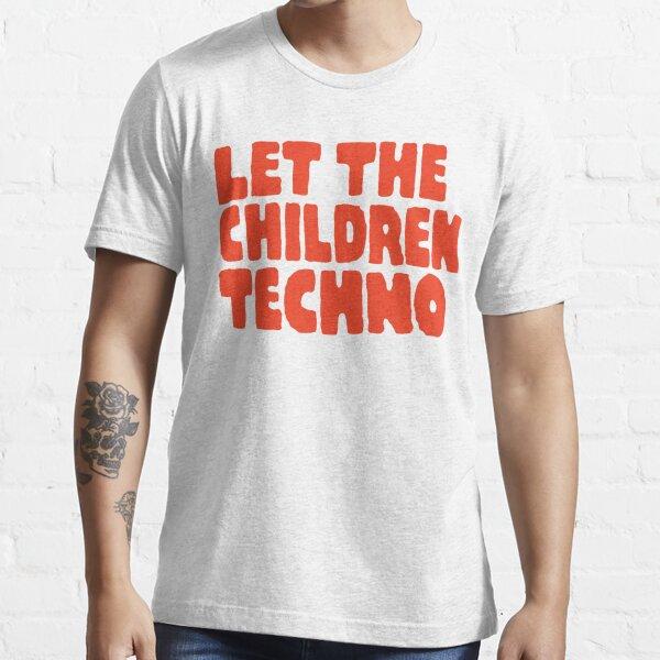 Laissez les enfants techno T-shirt essentiel