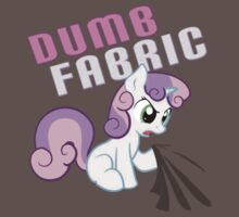 Sweetie Belle Dumb Fabric FIXED