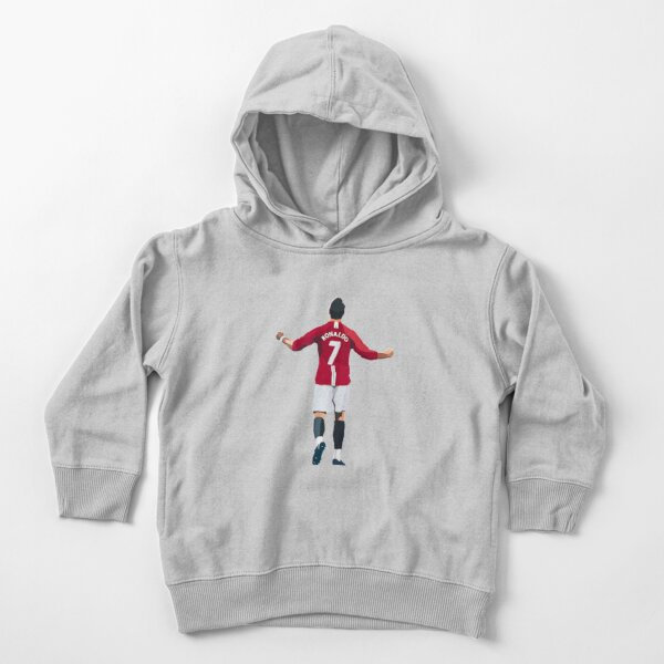 Cristiano Ronaldo Manchester United Legend Toddler Pullover Hoodie