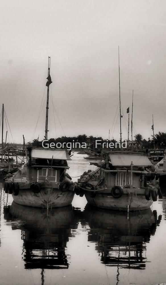 Reflections of Hoi An by Georgina   Friend