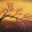 Cherry tree by Angel Ortiz
