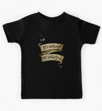 Mischief Managed Banner Kids T-Shirt