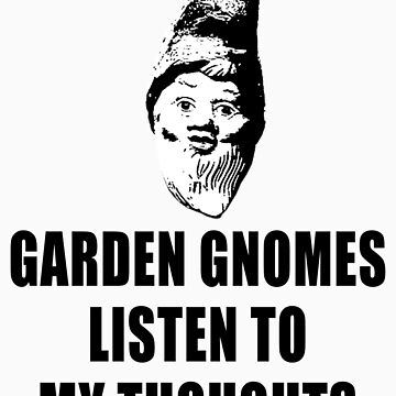 Garden Gnomes (black) by MissCake