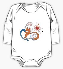 funny cats One Piece - Long Sleeve