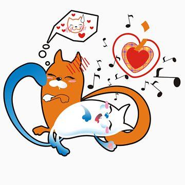 funny cats by -ashetana-