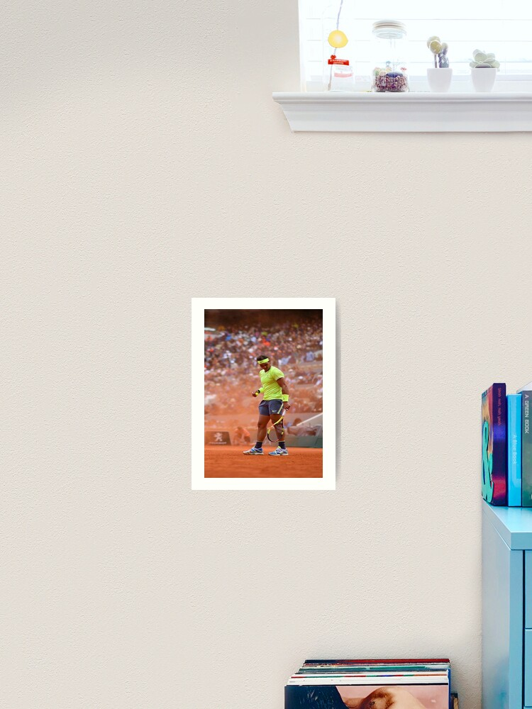 Rafael Nadal Poster Art Print By Amaury63 Redbubble