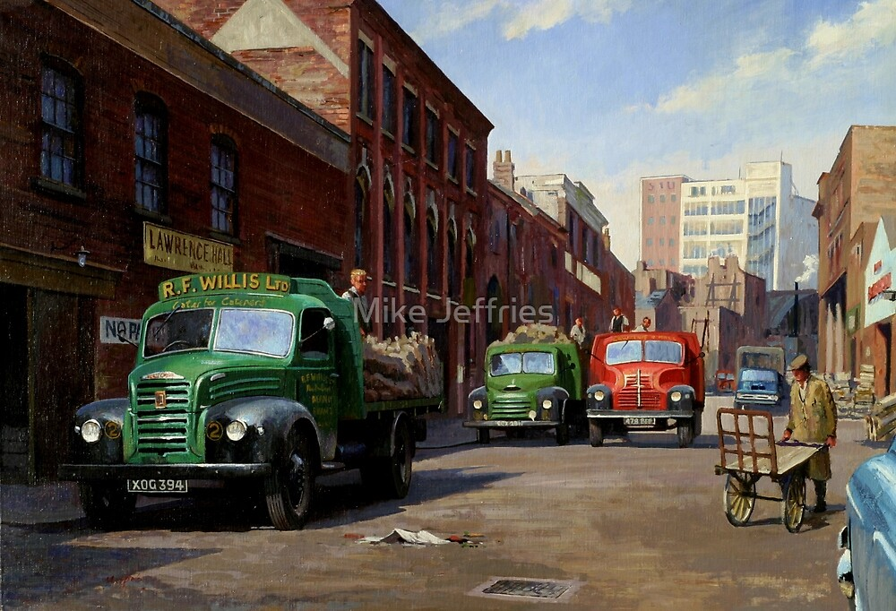 Birmingham fruit and veg market. by Mike Jeffries