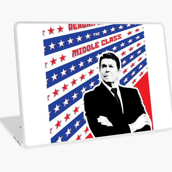 Reagan Ruined the Middle Class Laptop Skin