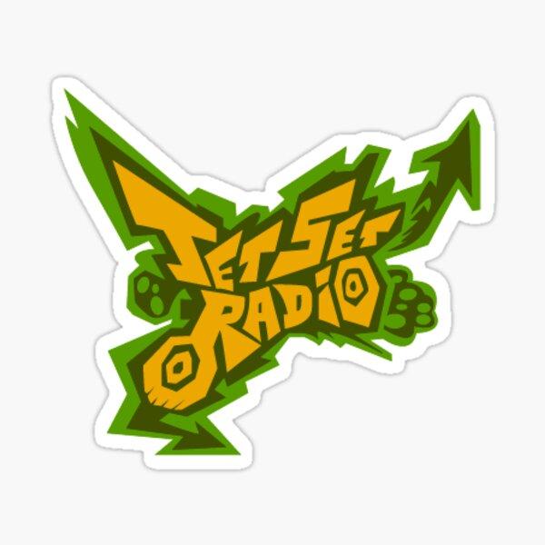 Jet Set Radio Logo Sticker