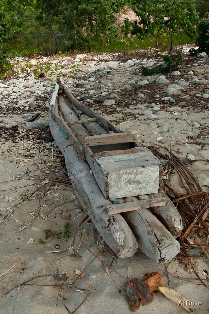 Boat On The Shore by Al Duke