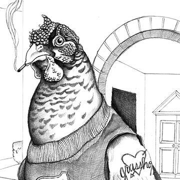 Charles Chicken Cuts Class Again by savannahguz