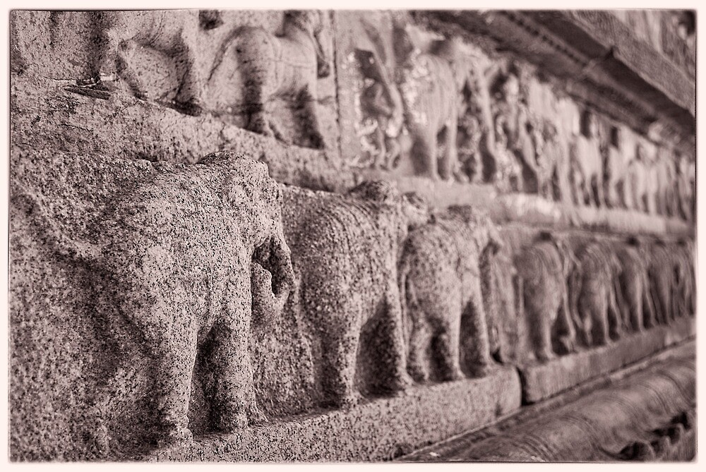 Elephant Carvings by Neha Singh