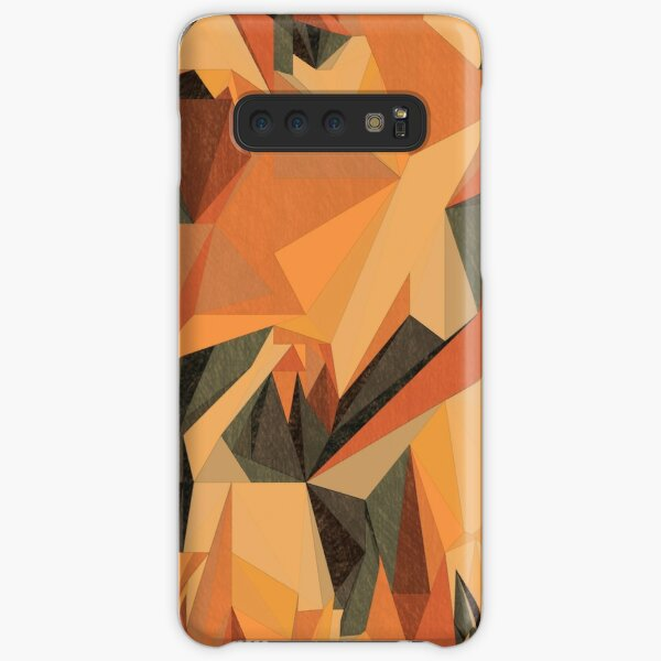 Net of multicolored triangles Sketch 3 Samsung Galaxy Snap Case