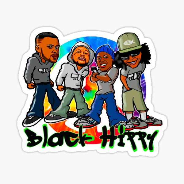 Black Hippy Graffiti Style Sticker